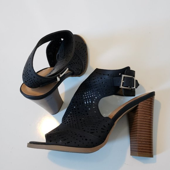 Call it Spring Heeled Sandals Chunky Heel